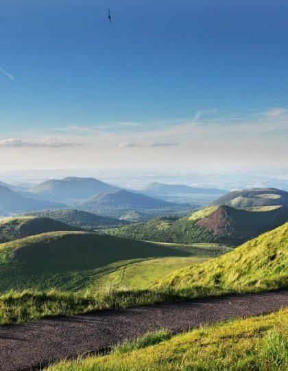 Auvergne, land van de vulkanen