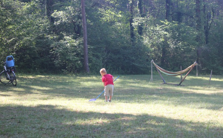 Lekker spelen op camping La Castillonderie