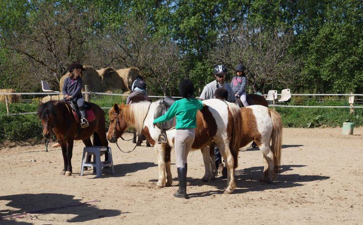 Pony rijden op La Castillonderie