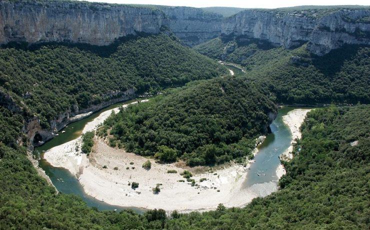 Gorges in de Ardèche