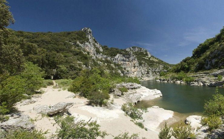 Ruige natuur in de Ardèche