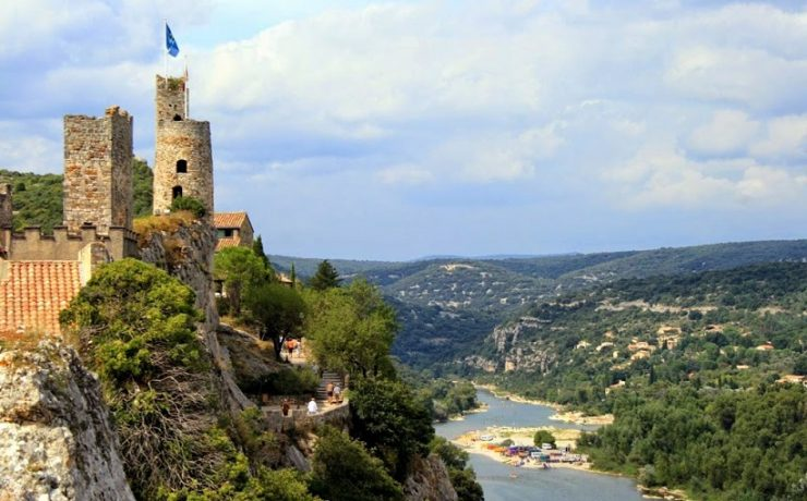 Aigueze in de Ardèche