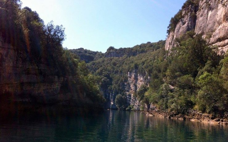 10 min, Gorges de Baudinard