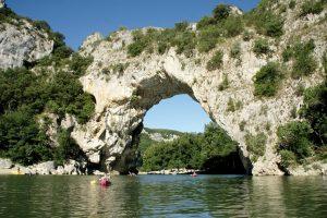 Pont d, Arc, Ardeche, Zuid Frankrijk