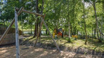 Het zwembad van L'Étang de la Fougeraie