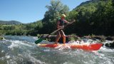 Stand-up paddling, Gorges de Jonte