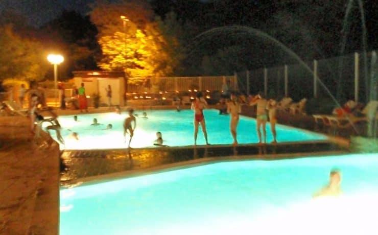 Avondzwemmen bij La Digue