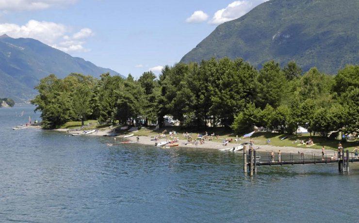 Camping Belvedere direct gelegen aan het Idromeer