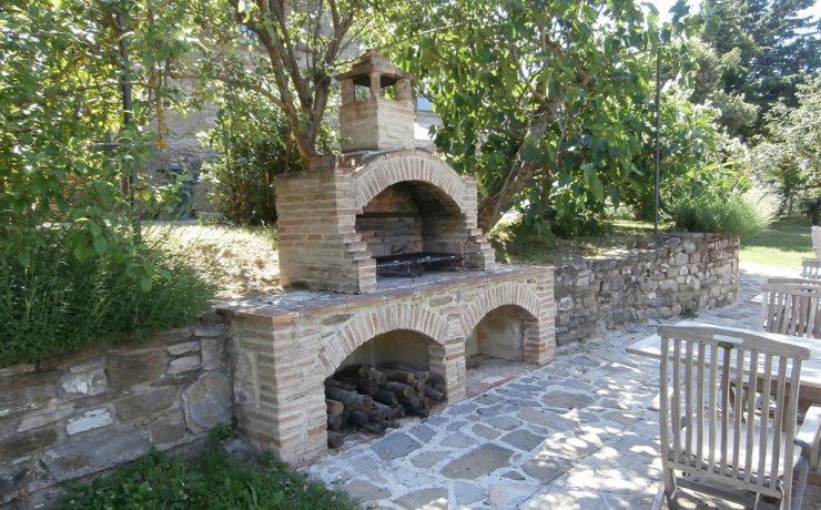 Gezamenlijke BBQ op camping Casale il Sogno