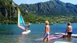 Windsurfen op het Idromeer