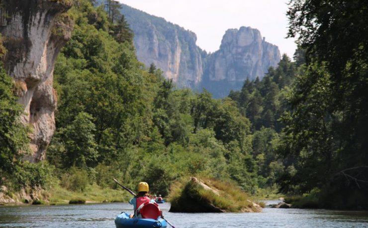 Kayakken, Gorges du Jonte