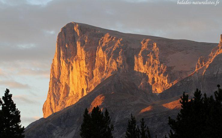 Le Pic de Bure 2709 m, haut Alpes