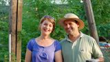 De eigenaren Marleen en Patrick van Les Arches