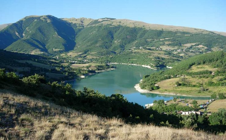 Lago di Fiastra, Le Marche