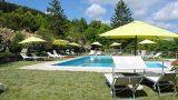 Relaxen aan het zwembad, Casale il Sogno