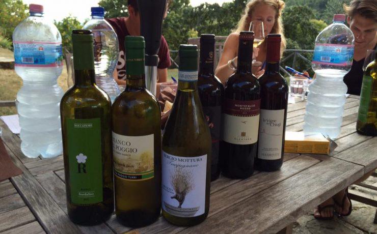 Wijnproeverij op Casale il Sogno