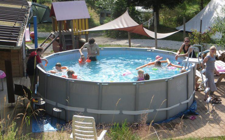 Zwembadje van Les Trexons