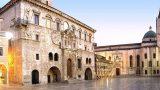 Stad Ascoli in Le Marche