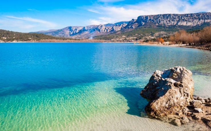 Lac Sainte Croix, Provence, Zuid Frankrijk
