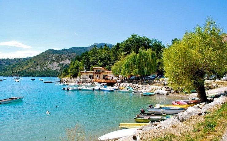 Lac de Castillon, Provence