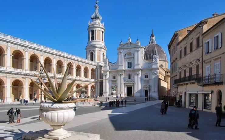 Bedevaartsoord Loreto in Le Marche