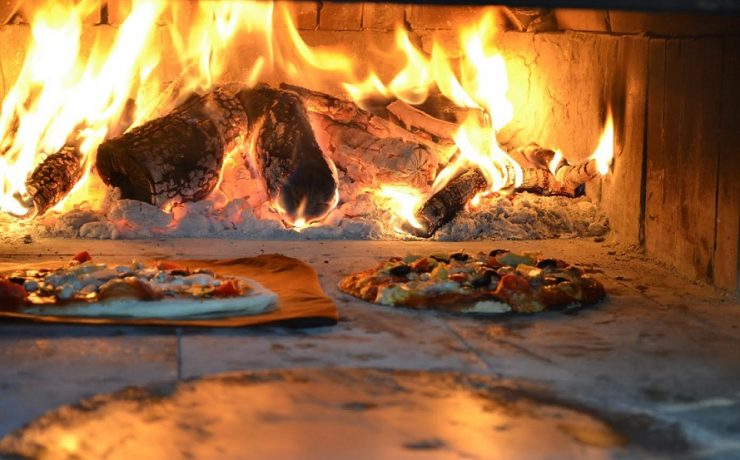 1x per week pizza avond op Casa Aurora