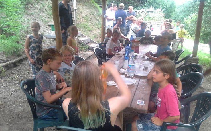 Gezelligheid op camping Casa Aurora
