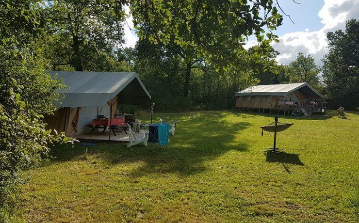 slowglamping op camping Mas du Midi