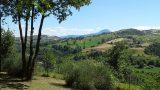 Prachtig groen en heuvellandschap rondom Casa Aurora