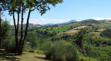 Prachtig uitzicht vanaf camping, Agriturismo Casa Aurora