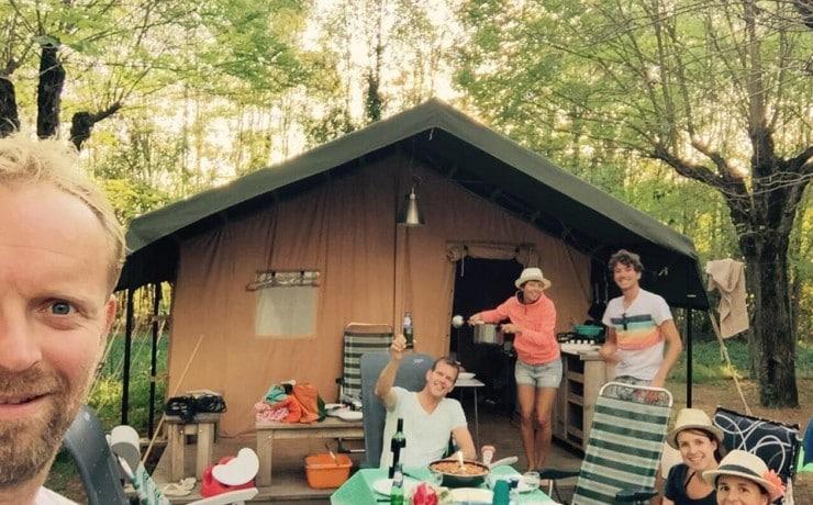 Gezellig! Vriendenweekend kamperen