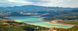 Lago Di Montedoglio, nabij familiecamping Luna del Monte
