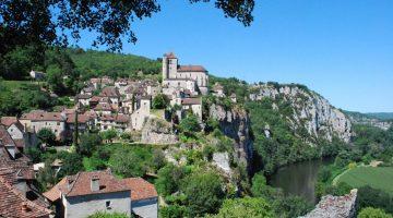 Lot, Saint-Cirq-Lapopie