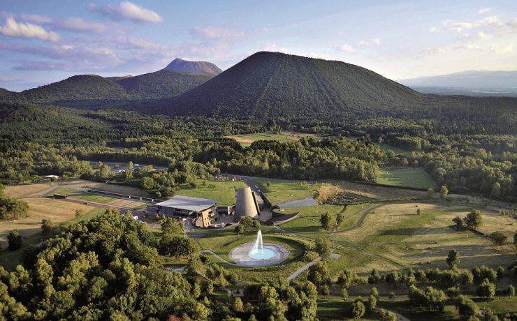 Themapark Vulcania, Auvergne, nabij le Chant Hibou