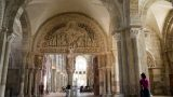 De beroemde abdij van Vezelay