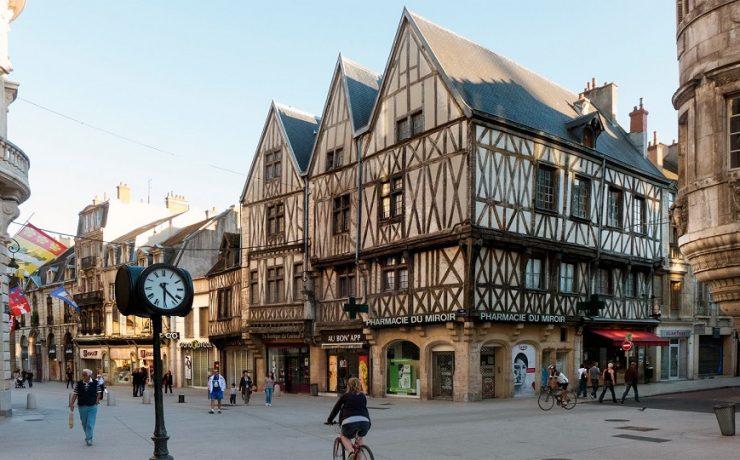 Dijon, hoofdstad van Bourgondie
