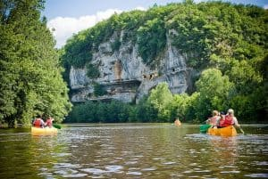 Dordogne, Kanovaren