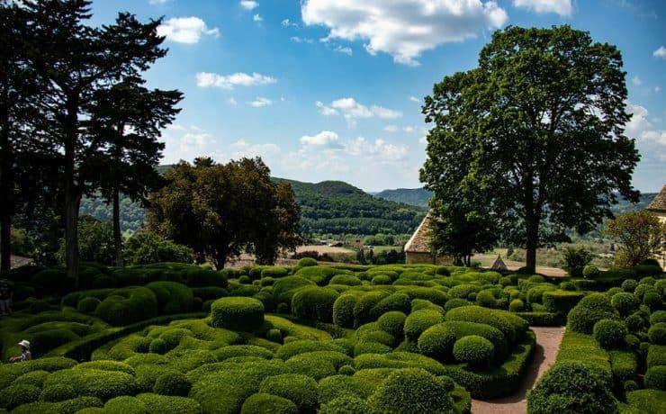 Dordogne, tuinen van Marquezzac