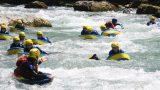 Hydrospeed en kayakken op 55 min
