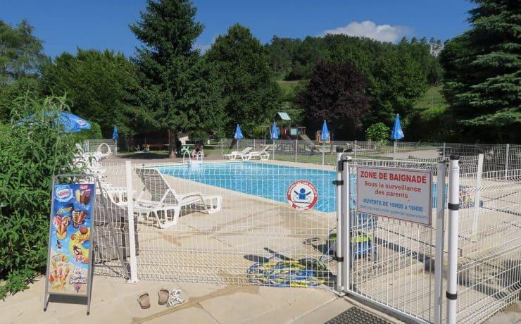 Het zwembad van La Faz