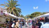 Vrijdagmarkt in Ventimiglia