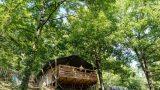 Glamping! Luxe kamperen op kleine Camping Moulin de Chaules, in een safaritent van Greencamp