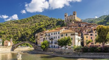Dolceacqua, Bloemenriviera Italië, Liguria, Il Sogno