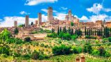 San Gimignano, Toscane, nabij camping La Prugnola
