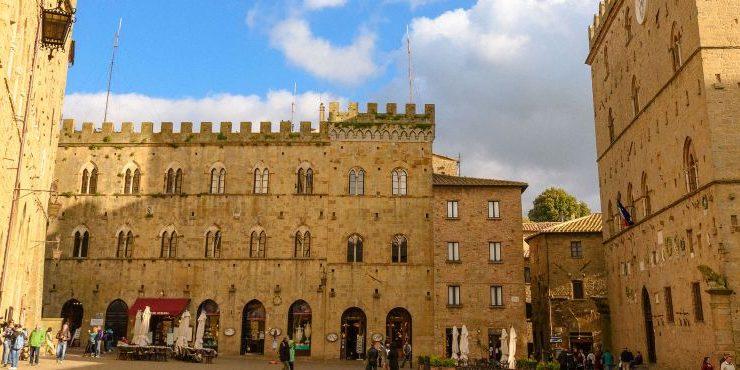 Volterra, Toscane nabij kleinschalige camping La Prugnola