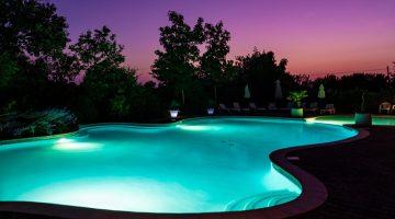 Camp Redon, avondzwemmen