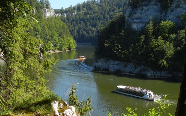 Bootjevaren op Doubs, Jura