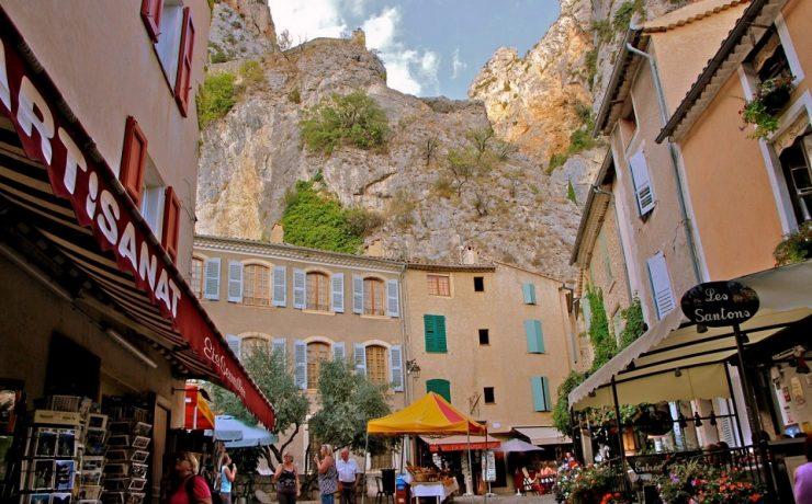 Castellane, Provence