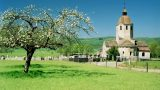 Kerkje bij Saint-Hymetiere, Jura