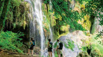 Watervallen, La Faz, Jura